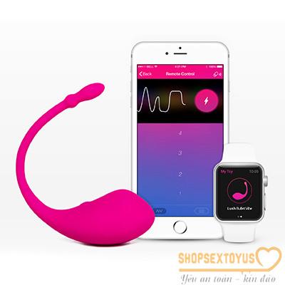 Trứng rung tình yêu Lush Lovense Bluetooth Made in USA   đồ chơi yêu dụng cụ tình dục