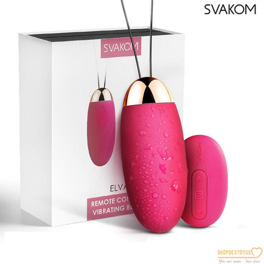 Trứng rung tình yêu Svakom hàng USA cao cấp   Máy rung thương hiệu Svakom của Mỹ