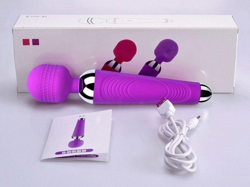 Chày rung tình dục massage điểm G dùng pin sạc – CR 254   Máy rung đồ chơi dụng cụ tình ái giá rẻ