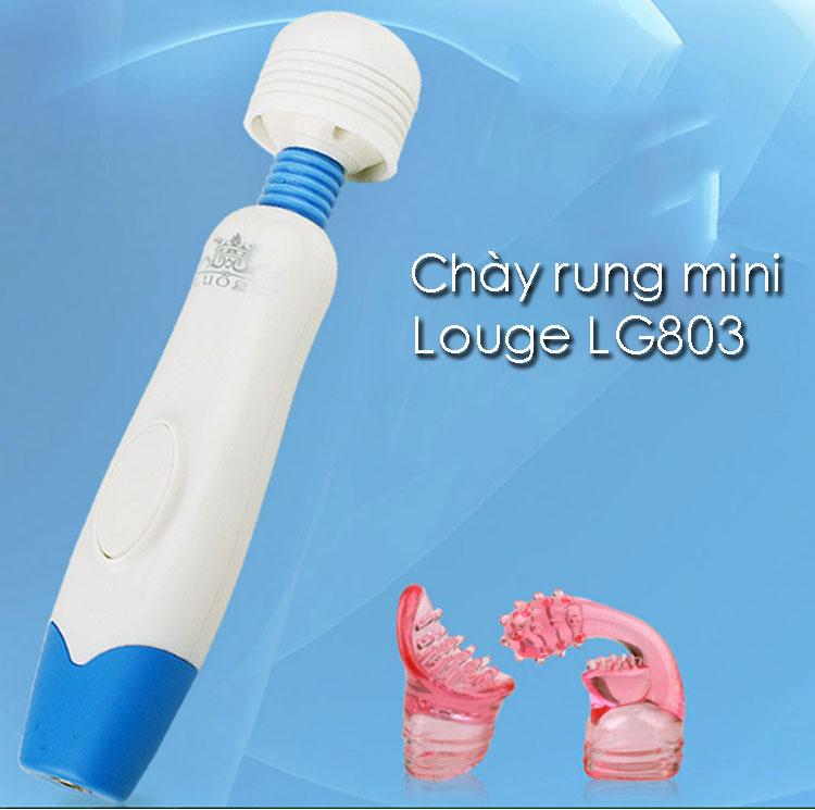 Chày rung tình dục massage mini Louge – CR 253   Máy massage tình ái, sextoys đồ chơi yêu