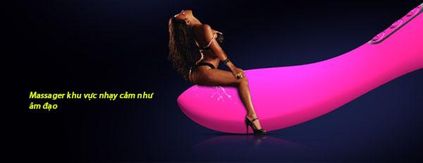 Chày rung tình dục LenTen tạo nhiệt hai đầu – CR248 | Dụng dụ tình yêu tạo nhiệt cao cấp cho nữ