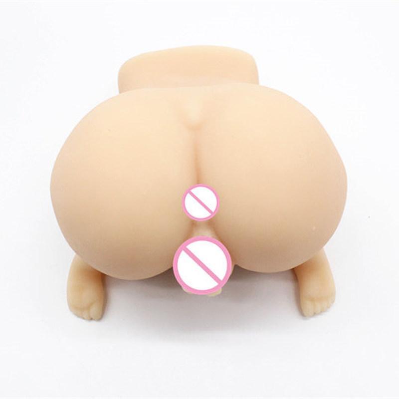 Mông giả có chân dụng cụ yêu nam Evo Mona Ass – MG 258   Mông giả nguyên khối to nặng