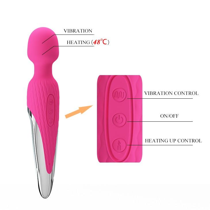 Chày rung tình dục sextoy phát nhiệt Pretty Love antony – CR272   Dụng cụ massage nữ cao cấp