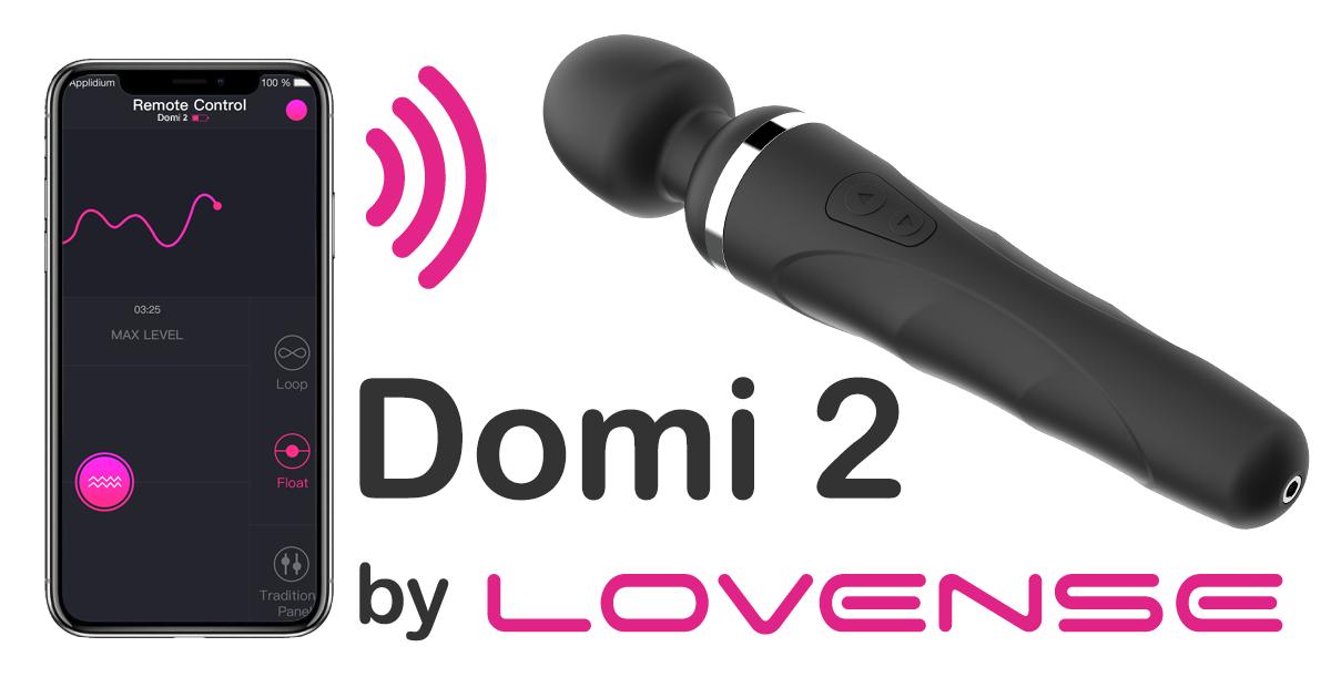 Chày rung tình dục nữ Lovense DOMI dụng cụ yêu – CR274   Đồ chơi tình dục phân khúc Sextoy chính hãng